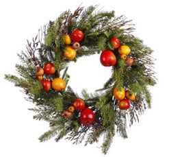 When you hang your Christmas wreath, you will be decorating your home as other homes and churches have all over the world for centuries.