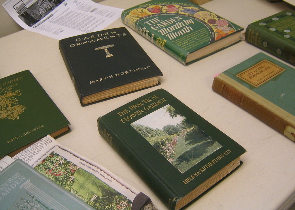 Becky's Antique Gardening Book Collection