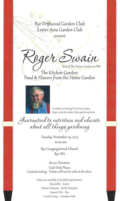 Roger Swain Poster