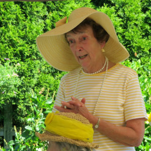 "Ann C.-""This is my Yellow Hat"""